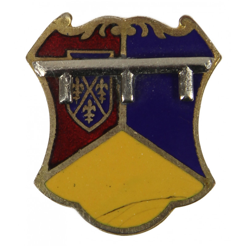 Distinctive Insignia, 66th Armored Rgt., 2nd Armored Division, Meyer, Clutch Back