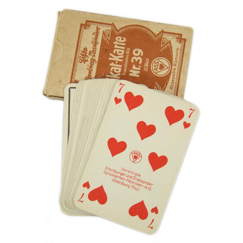 Cards, Playing, German