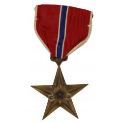 Medal, Bronze Star, in box, Named