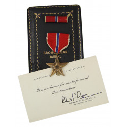 Medal, Bronze Star, in box, Named