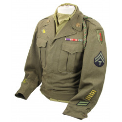 Jacket, Ike, and Shirt, 1st Infantry Division