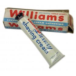 Cream, shaving, WILLIAMS