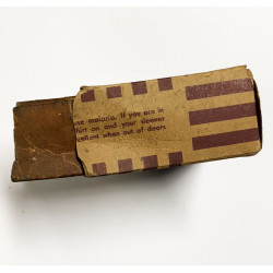 K-ration half box, M1 rifle muzzle cover, 1944