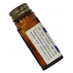 Bottle, 100 Tablets, Halazone, Empire Chemical Co., Inc.