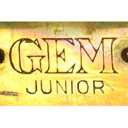 Razor, Safety, Metal, Two piece type, GEM