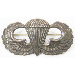 Wings, Jump, Parachutist, US Army, Sterling, GEMSCO