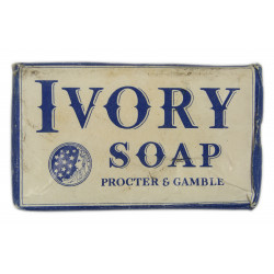 Soap, Large, US, IVORY, 1940