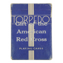 Cards, Playing, US, TORPEDO, American red Cross, 1942