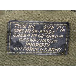 Cap, Flying, USAAF, Type B-1, 15th USAAF