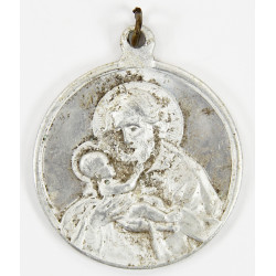US Army Chaplain WWII Catholic Miraculous Medal