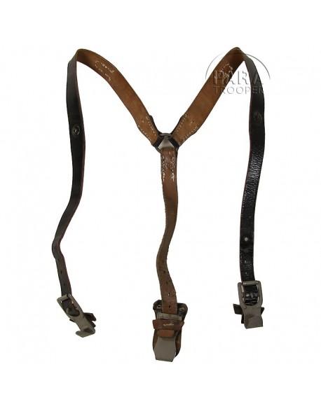 Suspenders, Field, Leather, light
