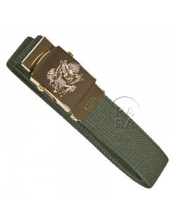 Belt, Officer web trousers, US Army eagle