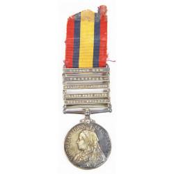 EN COURS Grouping, médaille britanniques, Guerre des Boers et Première Guerre mondiale