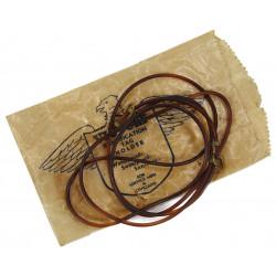 Cordon en plastique pour plaques d'identité, avec emballage