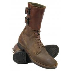 Boots, Service, Combat (Buckle boots), 9 D