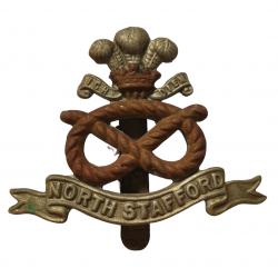 Cap Badge, North Staffordshire Regiment, Normandy