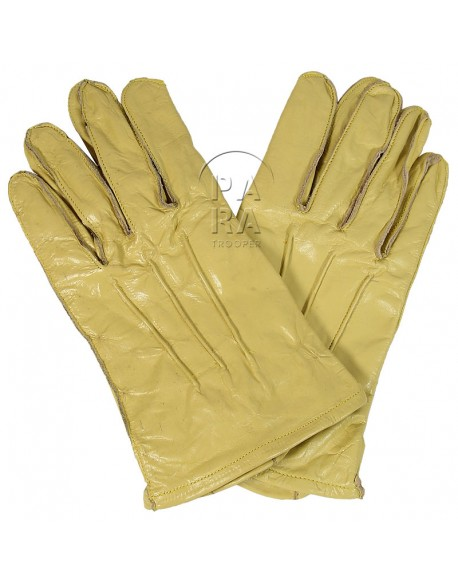 Gloves, Parachutist, Leather, US