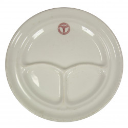 Plate, China, Medical Department