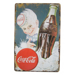 Plaque publicitaire, Coca-boy