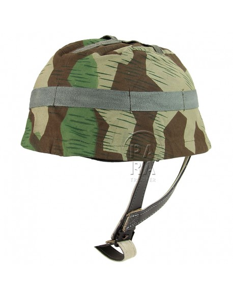 Cover, Helmet, Paratrooper, Camouflaged, splinter