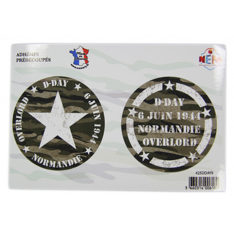 Sticker, Normandie D-Day 6 juin 1944