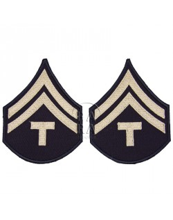 Grades en tissus de Corporal Technicien T/5