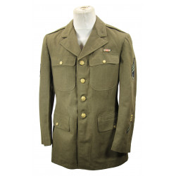 Coat, Wool, Serge, OD, Staff Sergeant, 42R