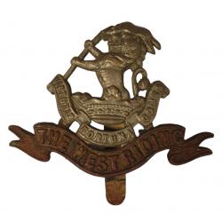 Cap Badge, The Duke of Wellington's Regiment (West Riding)