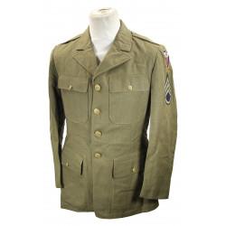 Coat, Wool, Serge, OD, 40R, 1941, S/Sgt, 4th USAAF