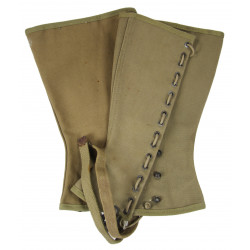 Leggings, Canvas, US Army, 3R, 1942