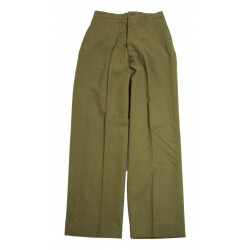 Trousers, Wool, Serge, OD, Special, 31 x 33, 1944
