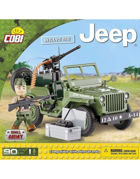 Lego Jeep Willys MB