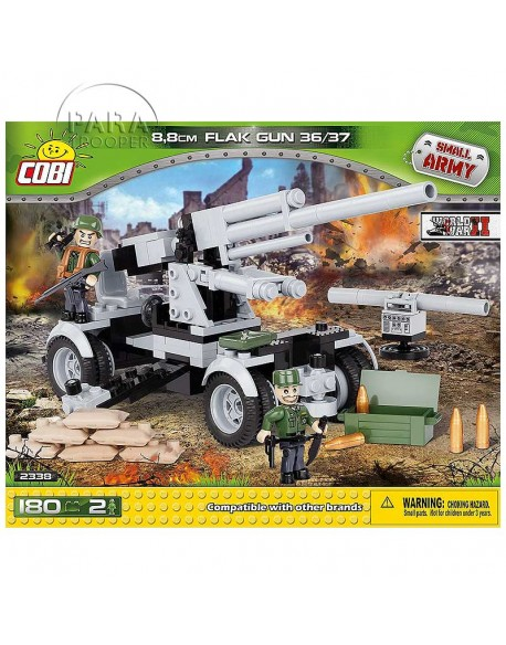 Lego Canon allemand 88mm Flak