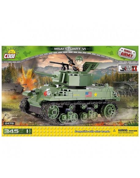 Lego Char M5A1 Stuart VI