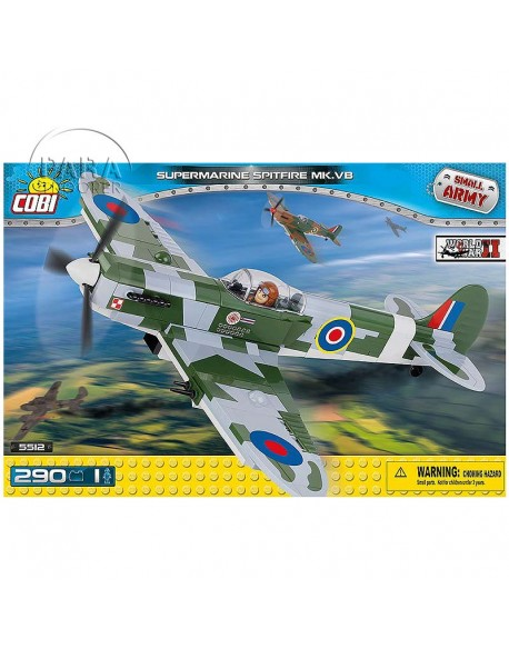 Lego Spitfire MK.VB