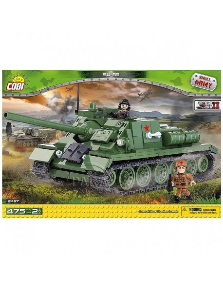 Lego SU-85 Tank Destroyer russe