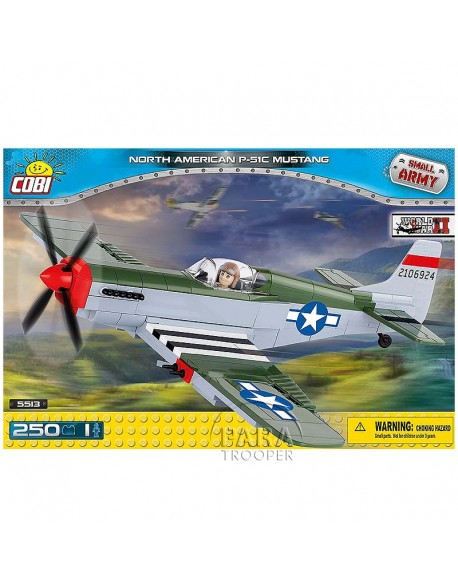 Lego North American P-51C Mustang