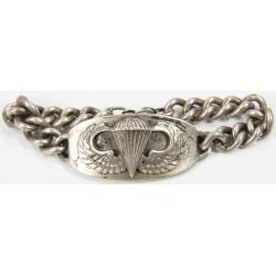 Bracelet, US Army, Parachutist, Sterling