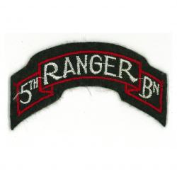 Tab, Shoulder, 5th Ranger Battalion, D-Day