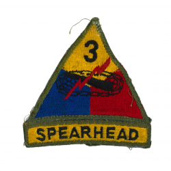 Patch, 3rd Armored Division, Spearhead