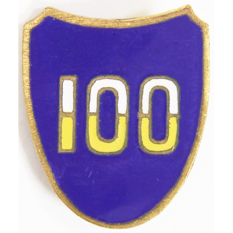 Crest, 100th Infantry Division, pin back