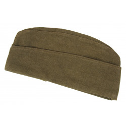 Cap, Overseas, US Army, British Made, 1944