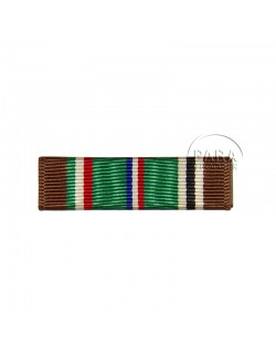 Ruban de décoration US, European African Middle Eastern Campaign