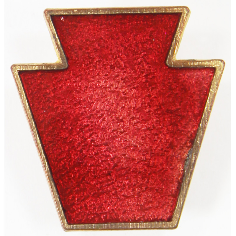 Crest, 28th Infantry Division, pin back