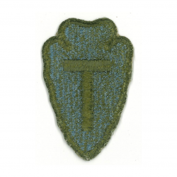 Patch, 36th Infantry Division, OD border, Green Back, 1943