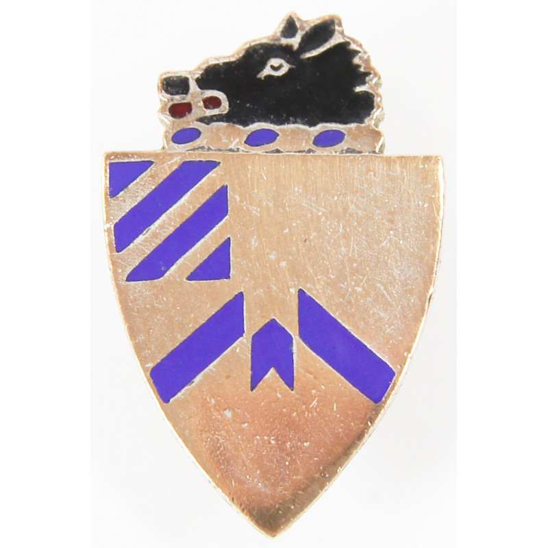Distinctive Insignia, 30th Inf. Rgt., 3rd Infantry Division, Screw Back