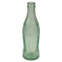 Bottle, Coca-Cola, Green, New-York, dated