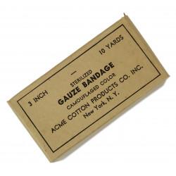 Bandage, Gauze, Camouflaged, 10 yards, ACME, June 24, 1943