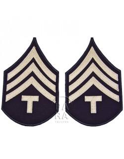 Grades en tissus de Sergent T/4