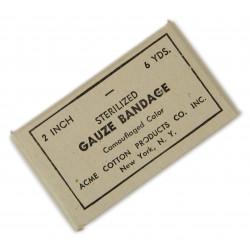 Bandage, Gauze, Camouflaged, 6 yards, ACME, June 24, 1943